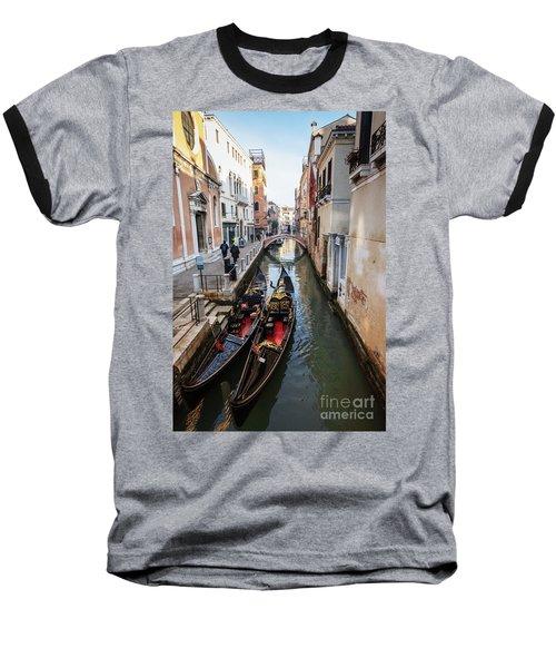 Morning In Venice In Winter Baseball T-Shirt