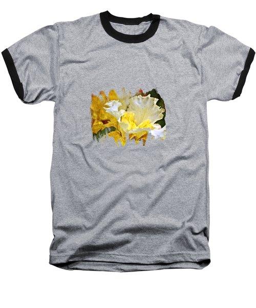 Morning Iris Baseball T-Shirt by Thom Zehrfeld