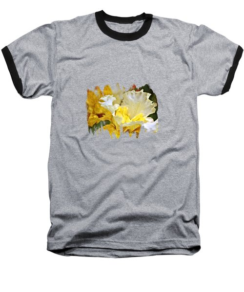 Morning Iris Baseball T-Shirt