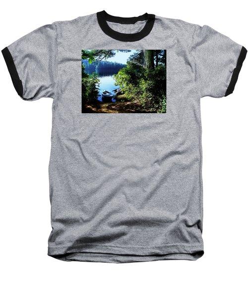 Morning Kayak Solitude Baseball T-Shirt
