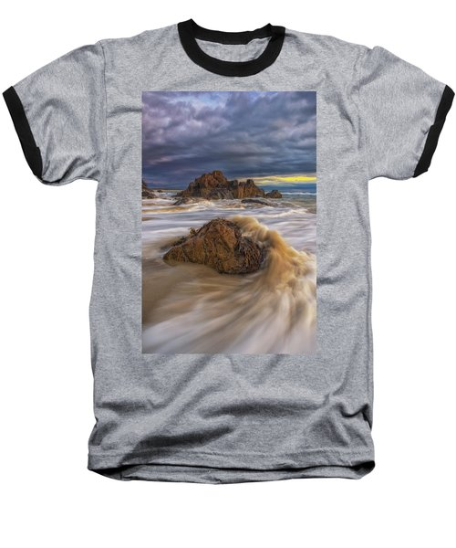 Morning Light At Marginal Way Baseball T-Shirt