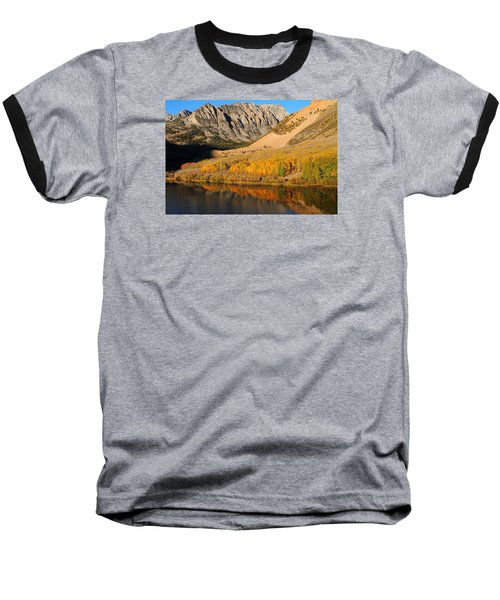 Morning Light At North Lake In The Eastern Sierras Baseball T-Shirt by Jetson Nguyen
