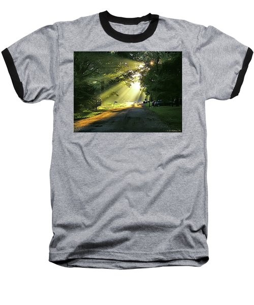 Baseball T-Shirt featuring the photograph Morning Light by Brian Wallace