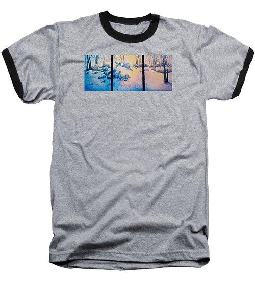 Morning Light Baseball T-Shirt by Carolyn Rosenberger