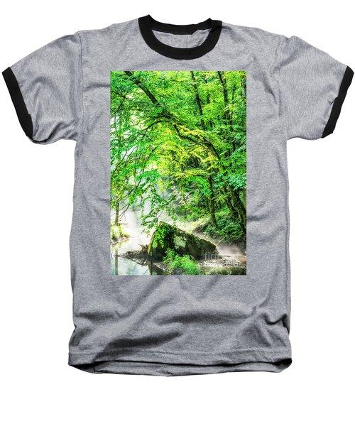 Morning Light In The Forest Baseball T-Shirt