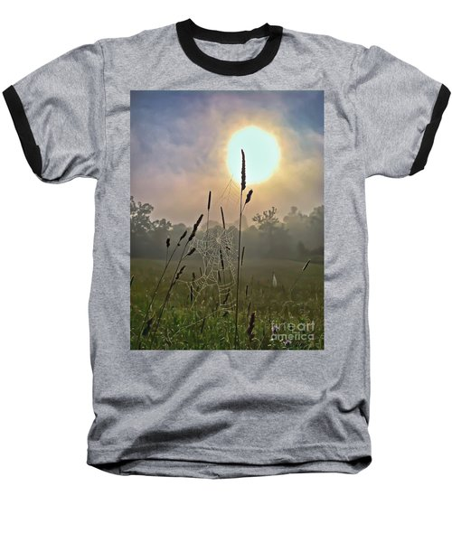 Morning Light Baseball T-Shirt by Kerri Farley