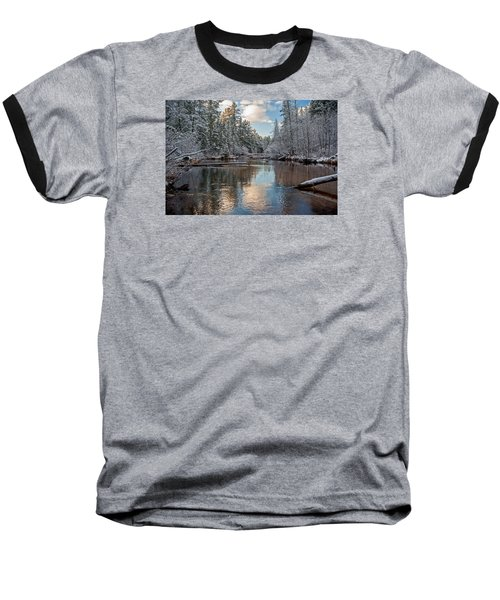 Morning Light On Grand Marais Creek Baseball T-Shirt