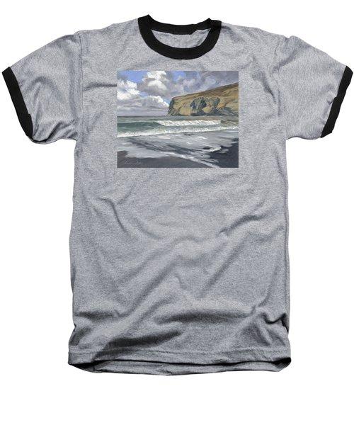 Morning Light On Pencannow Point Baseball T-Shirt