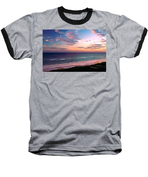 Morning Light On Rosemary Beach Baseball T-Shirt by Marie Hicks