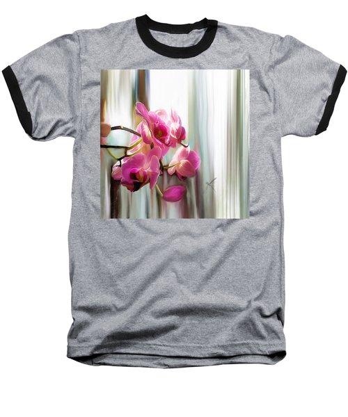 Morning Light Orchids Baseball T-Shirt