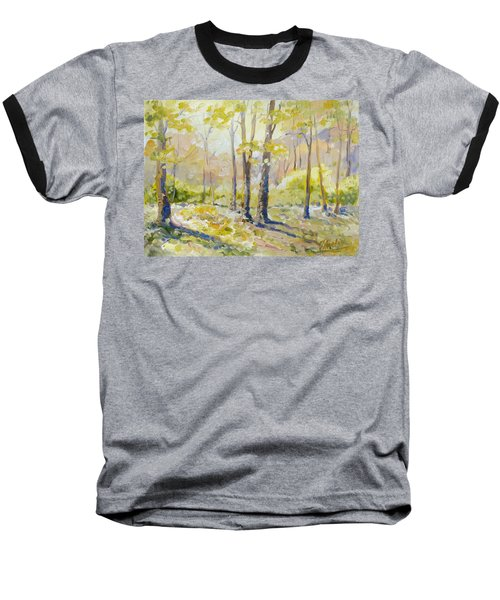 Morning Light - Spring Baseball T-Shirt by Irek Szelag