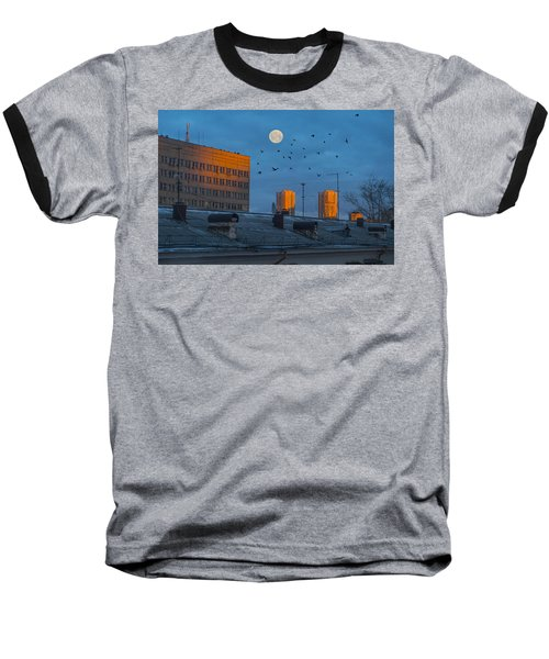 Baseball T-Shirt featuring the photograph Morning Light by Vladimir Kholostykh