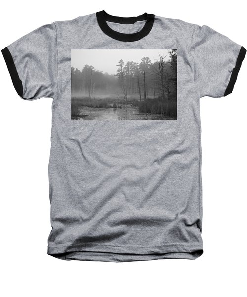 Morning Marsh Baseball T-Shirt