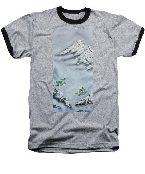 Morning Mist 2 Baseball T-Shirt