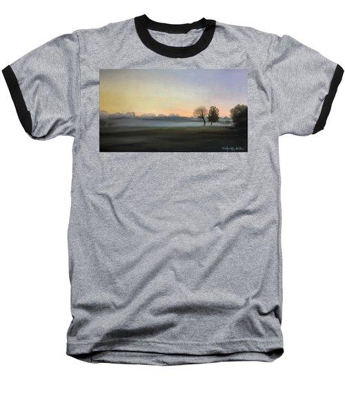 Morning Mist Encounter Baseball T-Shirt