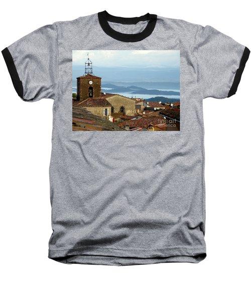 Morning Mist In Provence Baseball T-Shirt