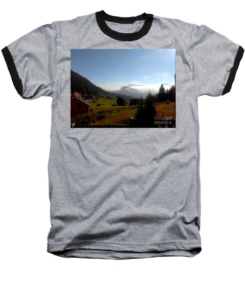 Morning Mist In The Magical Valley Baseball T-Shirt