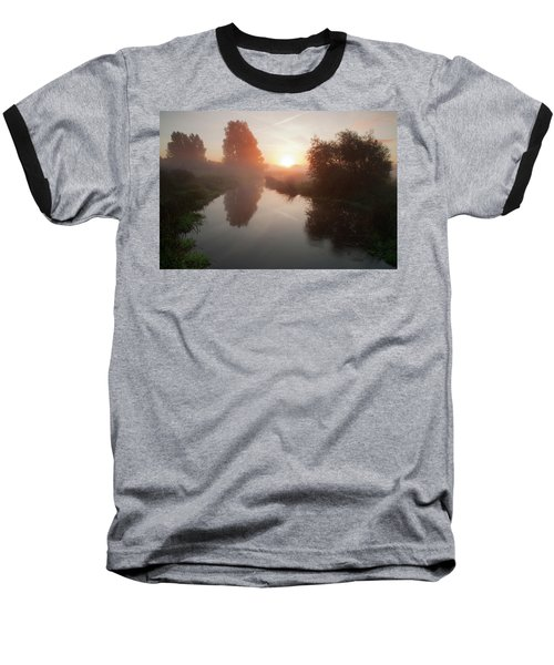 Morning Mist Baseball T-Shirt