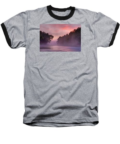 Morning Mist Baseball T-Shirt by Robert Charity