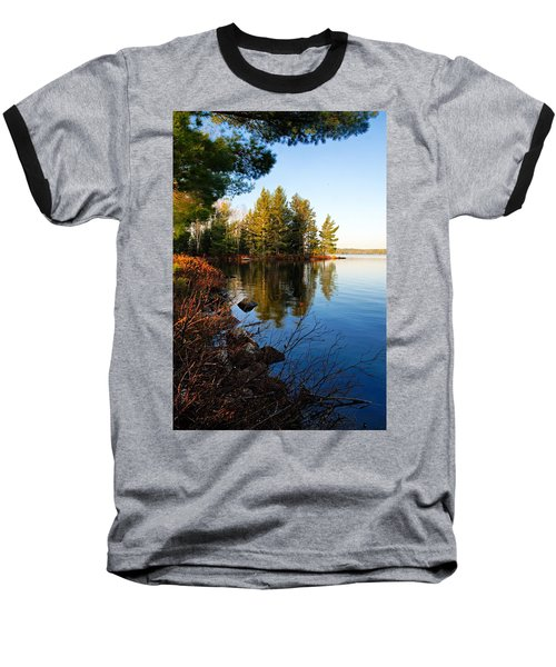 Morning On Chad Lake 4 Baseball T-Shirt
