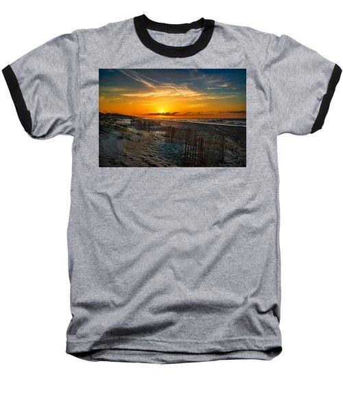 Morning On The Bogue Banks Baseball T-Shirt
