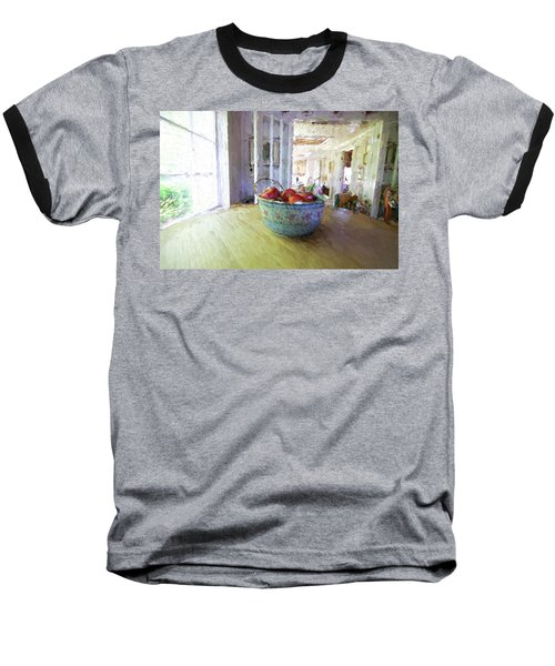 Morning On The Farm Baseball T-Shirt