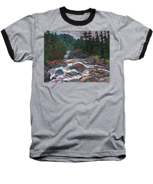 Morning On The Grande Chute Baseball T-Shirt