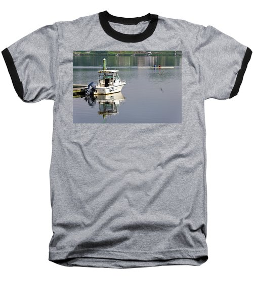 Baseball T-Shirt featuring the photograph Morning On The Navesink River 2 by Gary Slawsky