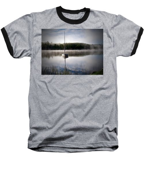 Morning On White Sand Lake Baseball T-Shirt