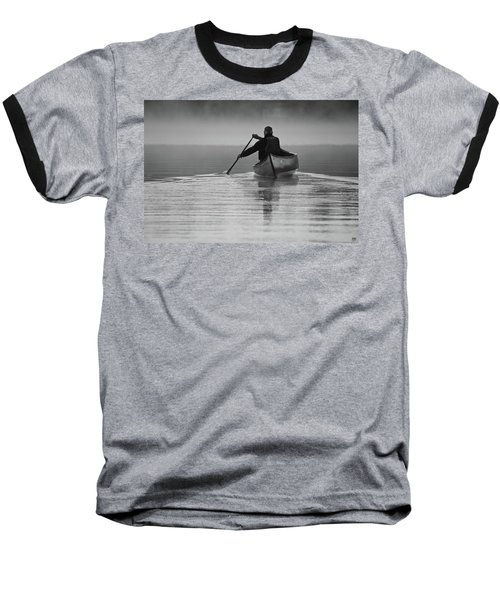 Morning Paddle Baseball T-Shirt