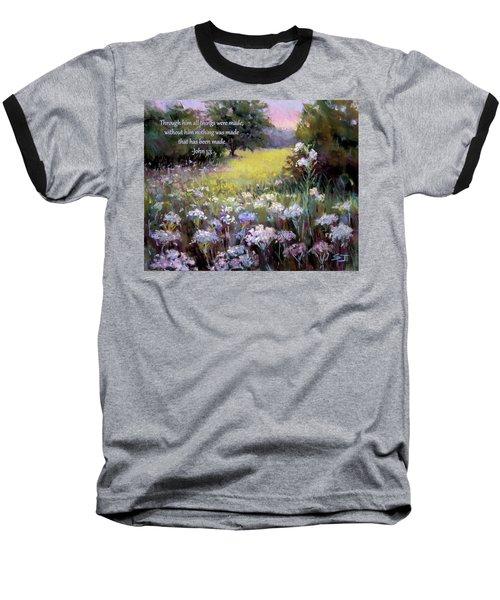 Morning Praises With Bible Verse Baseball T-Shirt