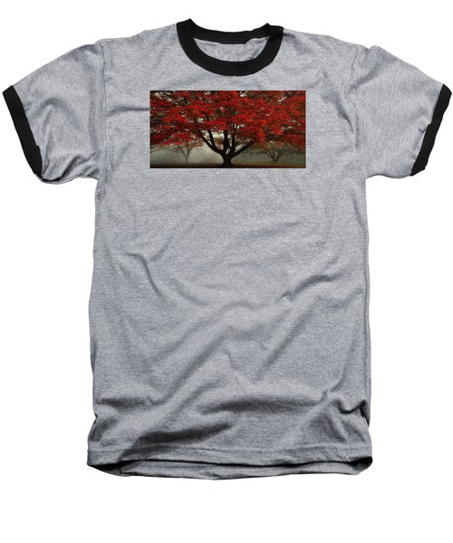 Baseball T-Shirt featuring the photograph Morning Rays In The Forest by Ken Smith