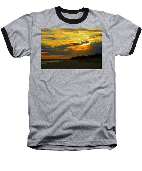Morning Rays Over Cape Cod Baseball T-Shirt
