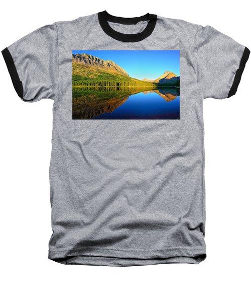 Morning Reflections At Fishercap Lake Baseball T-Shirt by Greg Norrell
