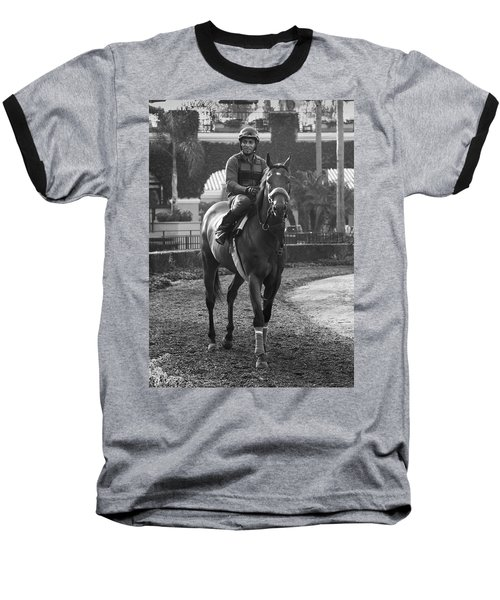 Morning Ride Baseball T-Shirt