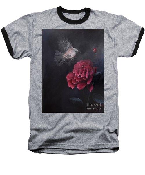 Morning Rose Baseball T-Shirt