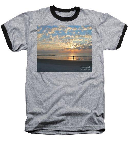 Morning Run Baseball T-Shirt