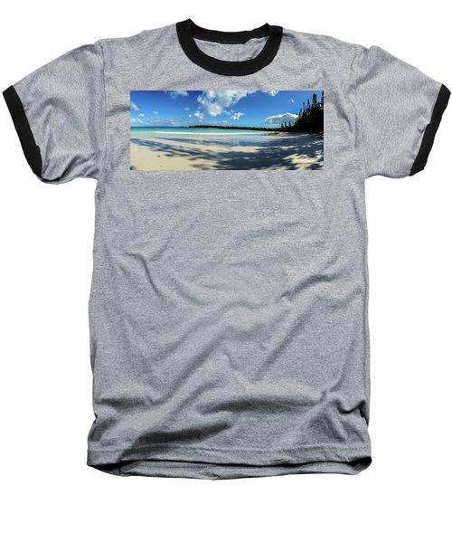 Morning Shadows Ile Des Pins Baseball T-Shirt