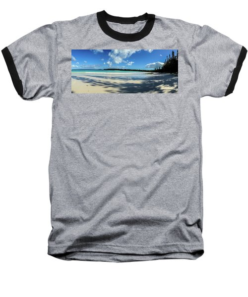 Morning Shadows Ile Des Pins Baseball T-Shirt