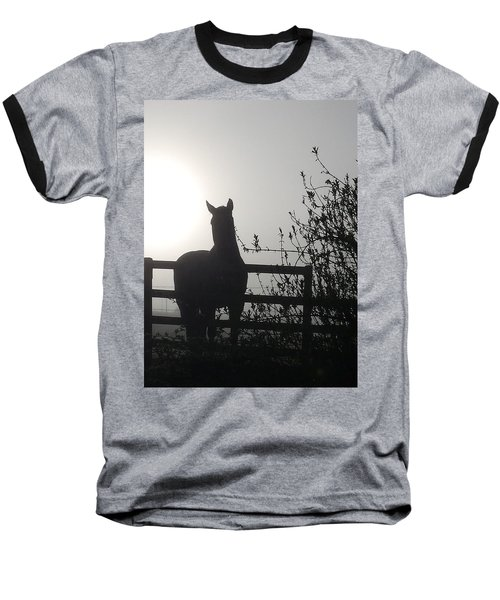 Morning Silhouette #1 Baseball T-Shirt