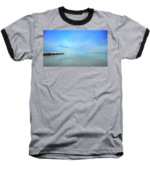 Morning Sky Reflections Baseball T-Shirt
