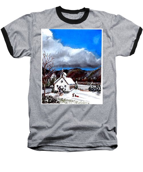 Morning Snow Ministry Baseball T-Shirt