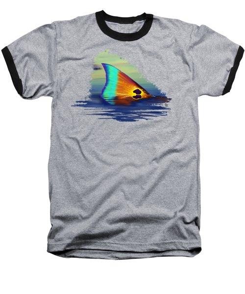 Morning Stroll Baseball T-Shirt by Kevin Putman