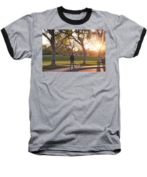 Morning Stroll Baseball T-Shirt