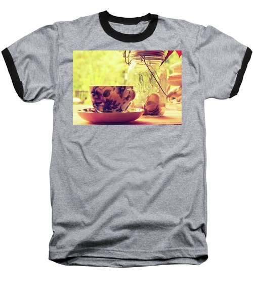 Morning Tea Baseball T-Shirt
