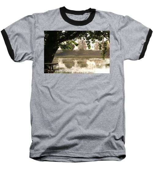 Morning Tranquility  Baseball T-Shirt