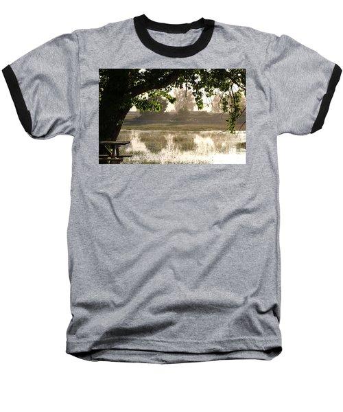 Morning Tranquility  Baseball T-Shirt