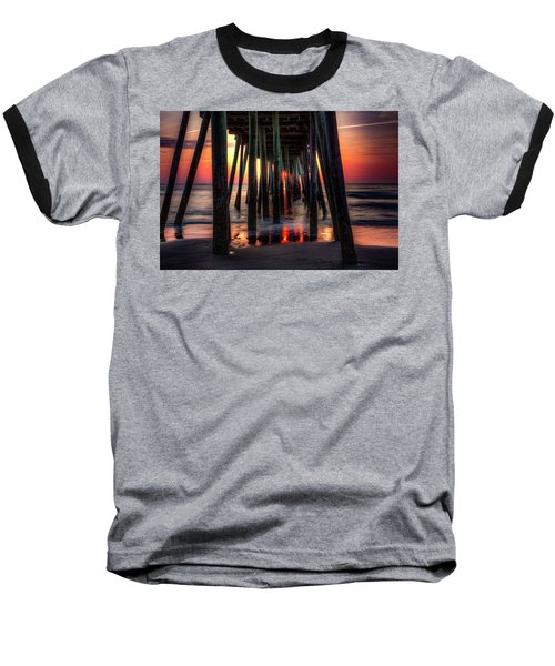 Morning Under The Pier Baseball T-Shirt