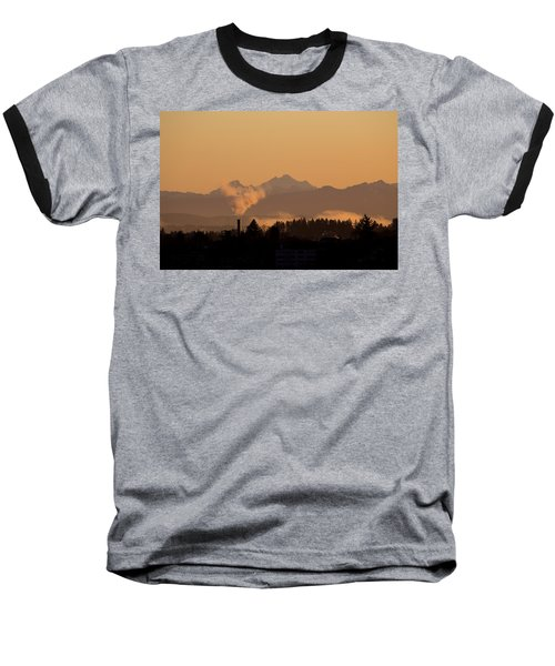 Baseball T-Shirt featuring the photograph Morning View by Evgeny Vasenev