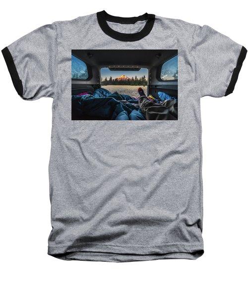 Morning Views Baseball T-Shirt by Alpha Wanderlust